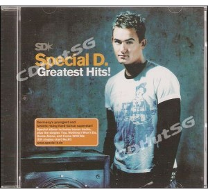 Special D : GREATEST HITS! Euro Techno CD